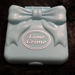 Lime Crime pocket candy eyeshadow palette